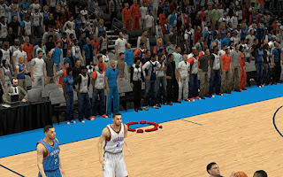 NBA 2K13 Oklahoma City Thunder Sideline Characters Fix