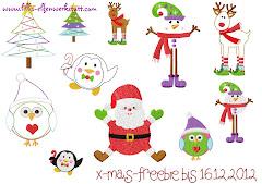 Kerstborduurtjes