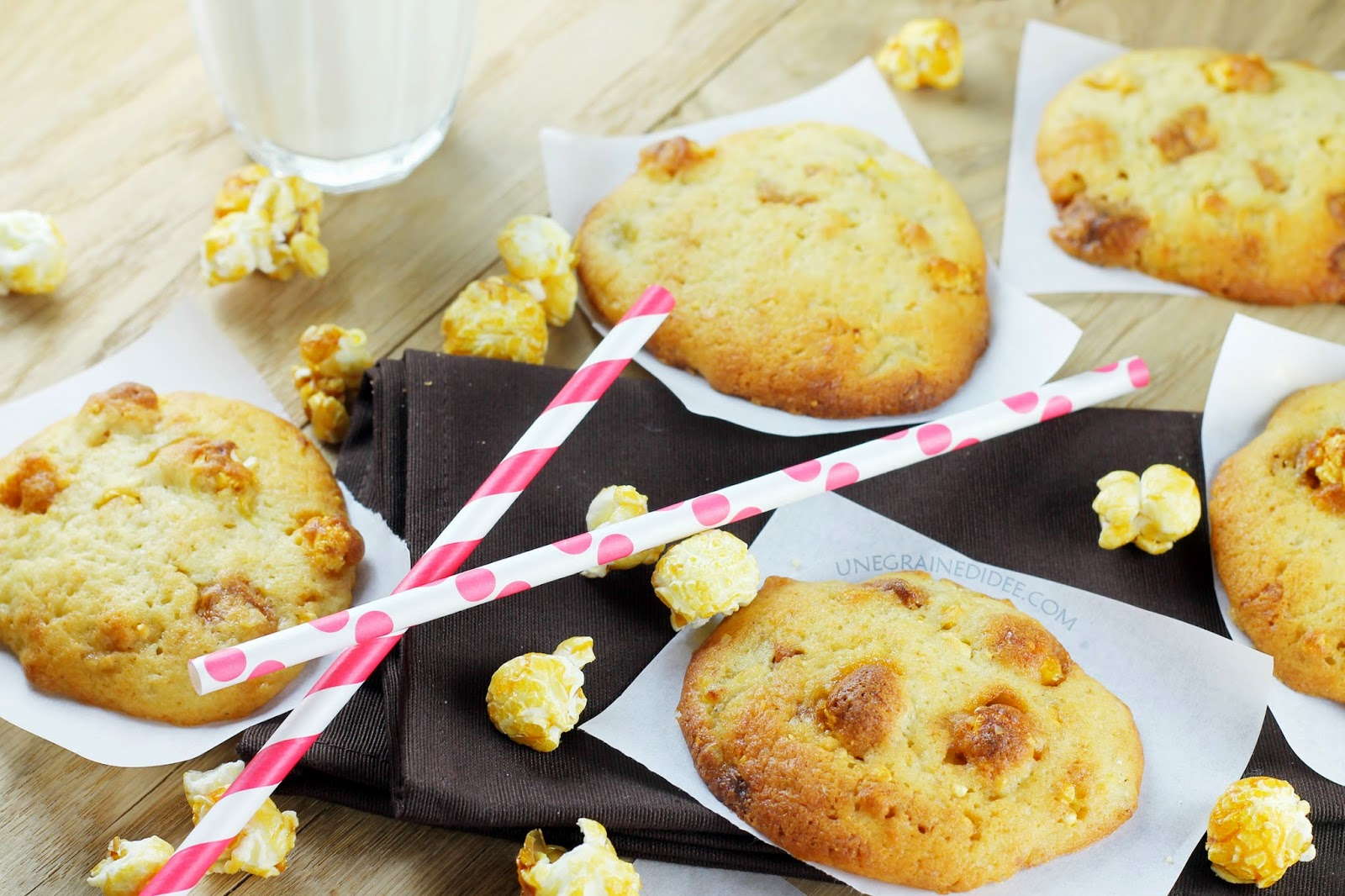 Cookie Banane Dulcey Pop-corn