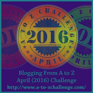 2016 Blogging from A to Z Challenge