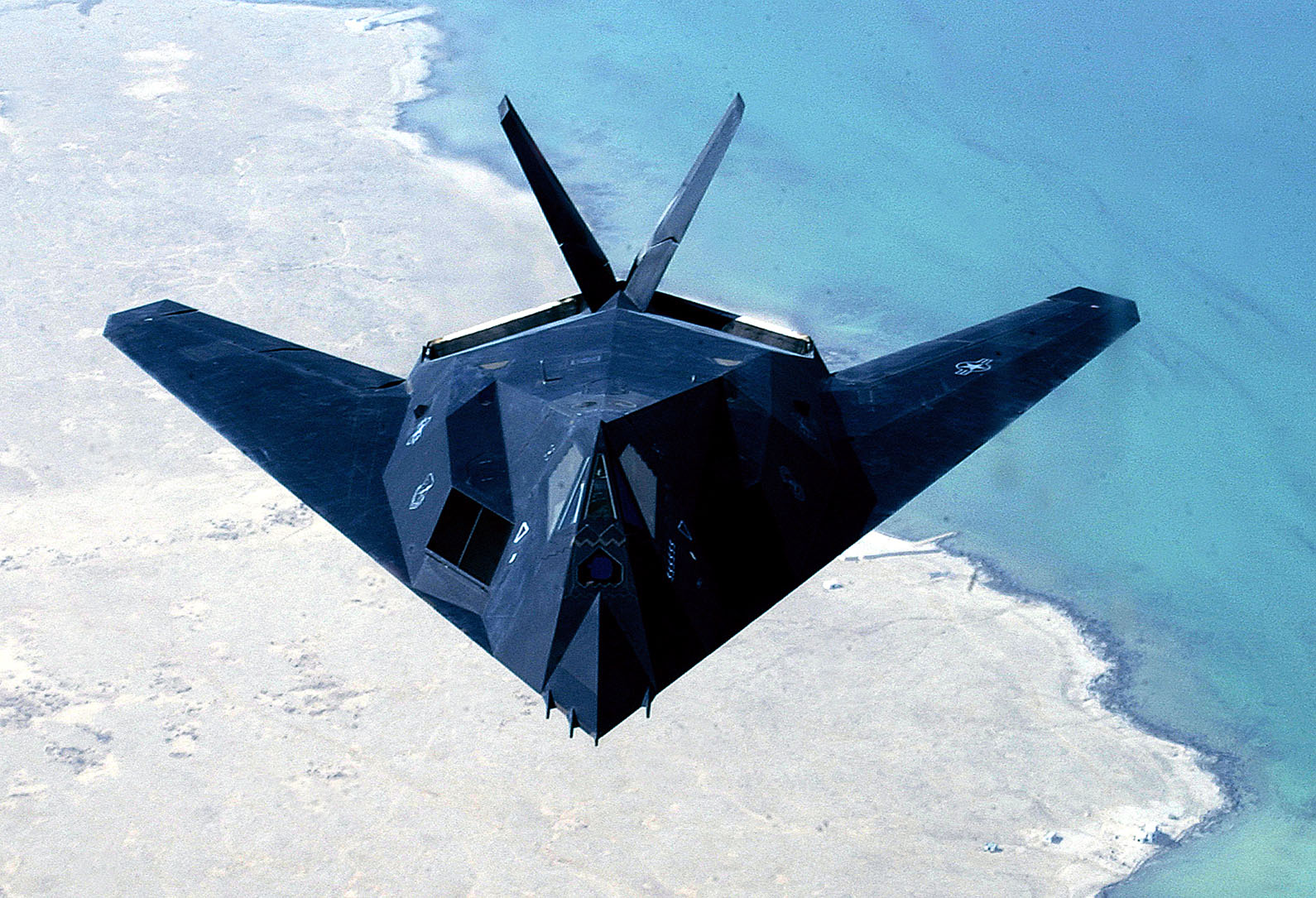 F-117 Nighthawk Stealth attack aircraft