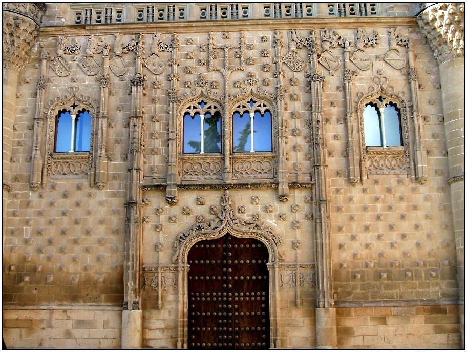 Un paseo por mi vida: Palacio de Jabalquinto en Baeza (Jaén)