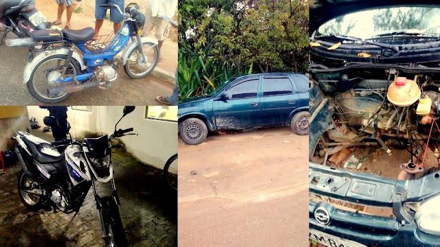 Guardas Municipais de Aracaju recuperam veículos.