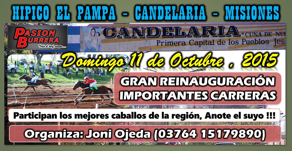 CANDELARIA - MNES - 11 DE OCTUBRE