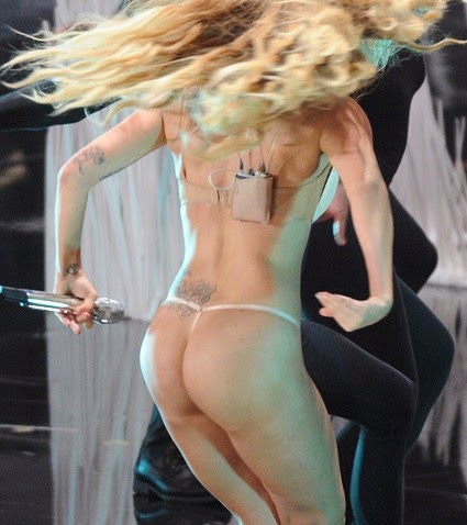 Lady Gaga Ass Grab 108