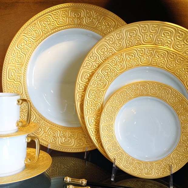 L'Objet Han dinnerware collection