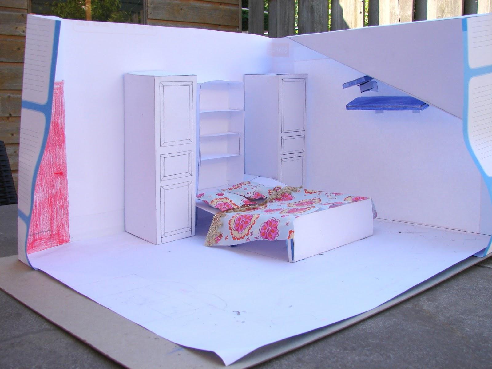 Collie collie: slaapkamer op schaal