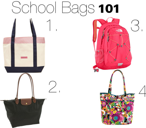 The Kennedys Amongst The Kardashians: School Bags 101