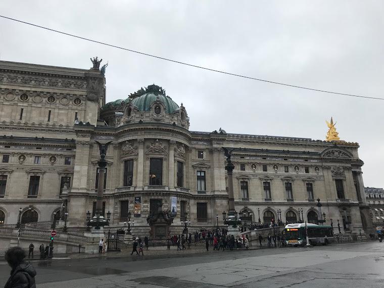 La Ópera Garnier, también conocida como Palacio Garnier u Ópera de París. Fotografía de Gustavo Fig