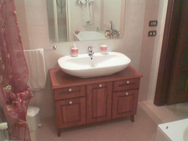 Fai da te hobby legno mobile da bagno - Lavandino da incasso bagno ...