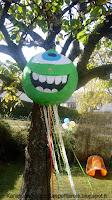 Piñata monstre à faire soi-même