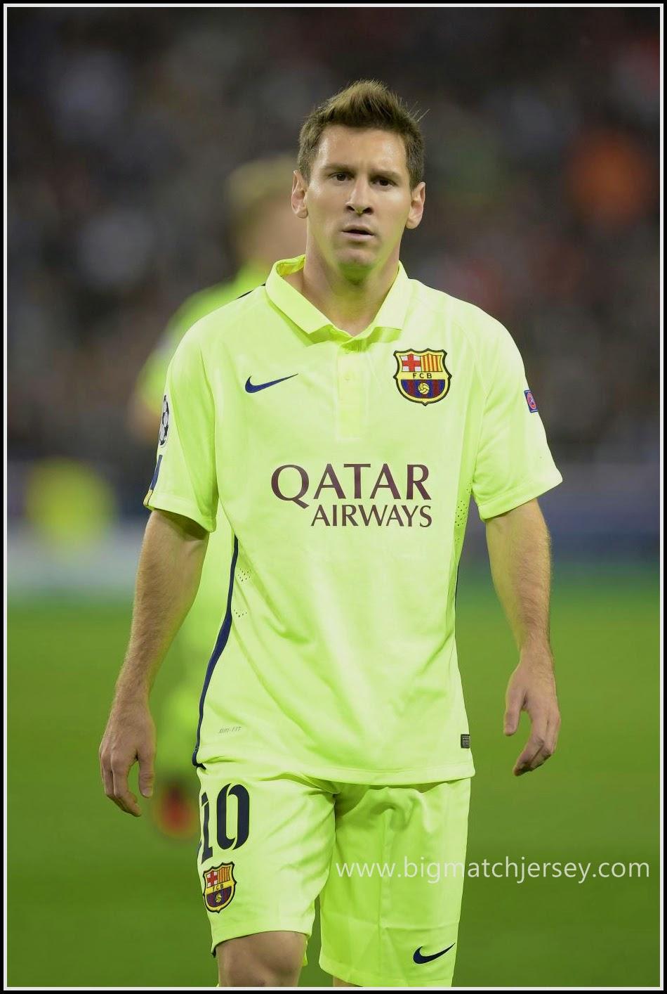 Lionel Messi FC Barcelona 2014-2015