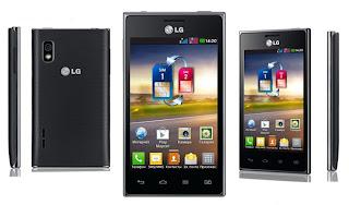 "LG Optimus L5 dual HP Android layar 4"" harga dibawah 2 juta"