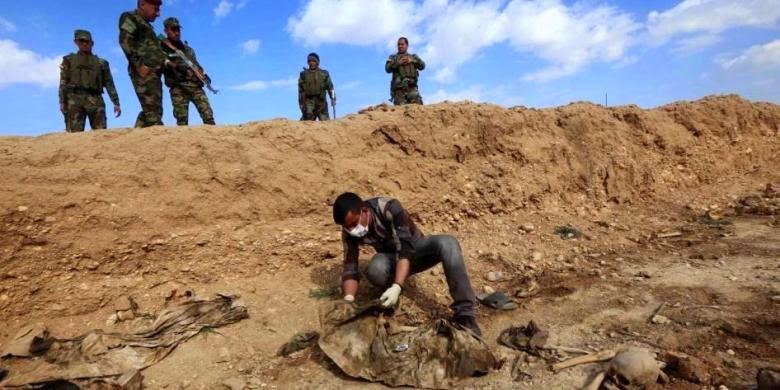 Pasukan Kurdi Irak Tuduh ISIS Gunakan Senjata Kimia
