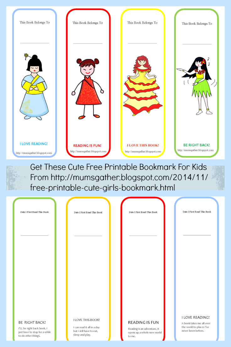 Juicy image throughout cute bookmarks printable