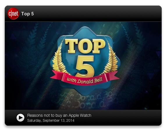 CNET's Top 5