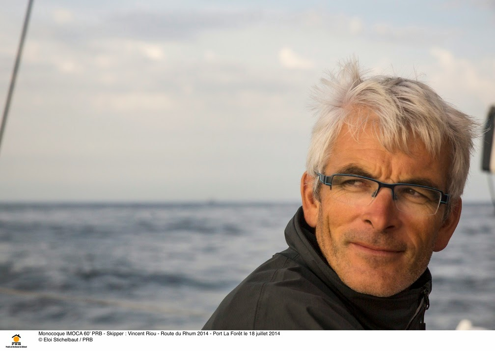 Vincent Riou découvre le Paris - Dakar.
