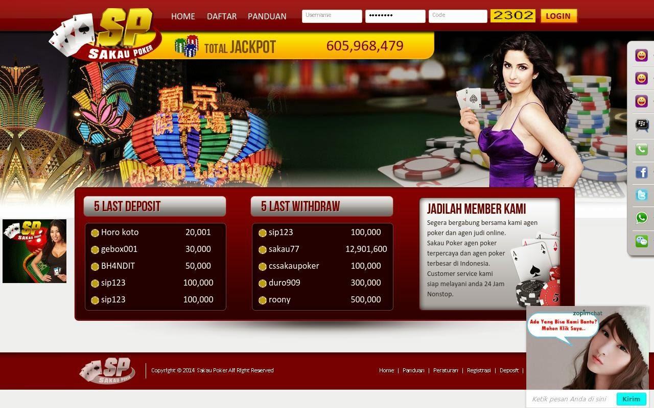 sakaupoker.com agen poker online texas poker yang terpercaya