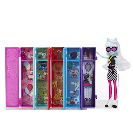 MLP Equestria Girls Friendship Games School Lockers Playset Photo Finish Doll