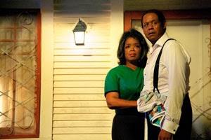 Oprah Winfrey y Forest Whitaker en El mayordomo