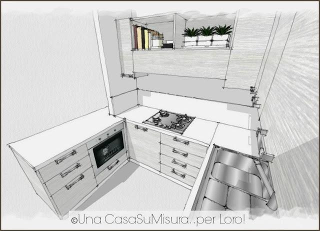 una casa su misura risponde: la cucina di Sabrina