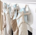 Instant Beach Style to Christmas Stockings