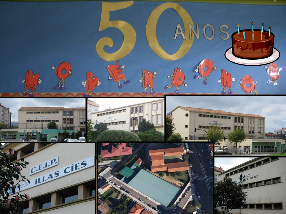 CEIP ILLAS CÍES IS 50 YEARS OLD!