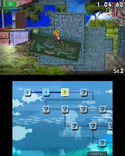 Umihara Kawase 3ds screenshot