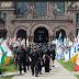 قوات الامن الكندية تفصل بين مظاهرات معادية ومؤيدة لاسرائيل