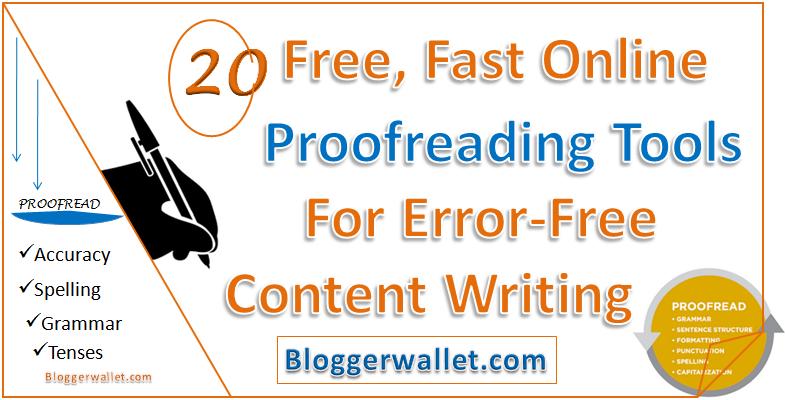 Buy proofreader online