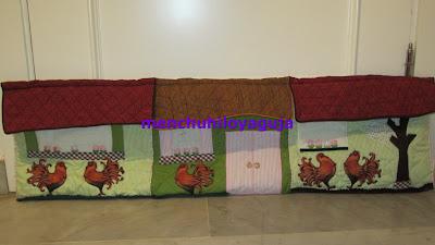 Patrones de costura burlete de casitas de retales for Burlete puerta decorativo