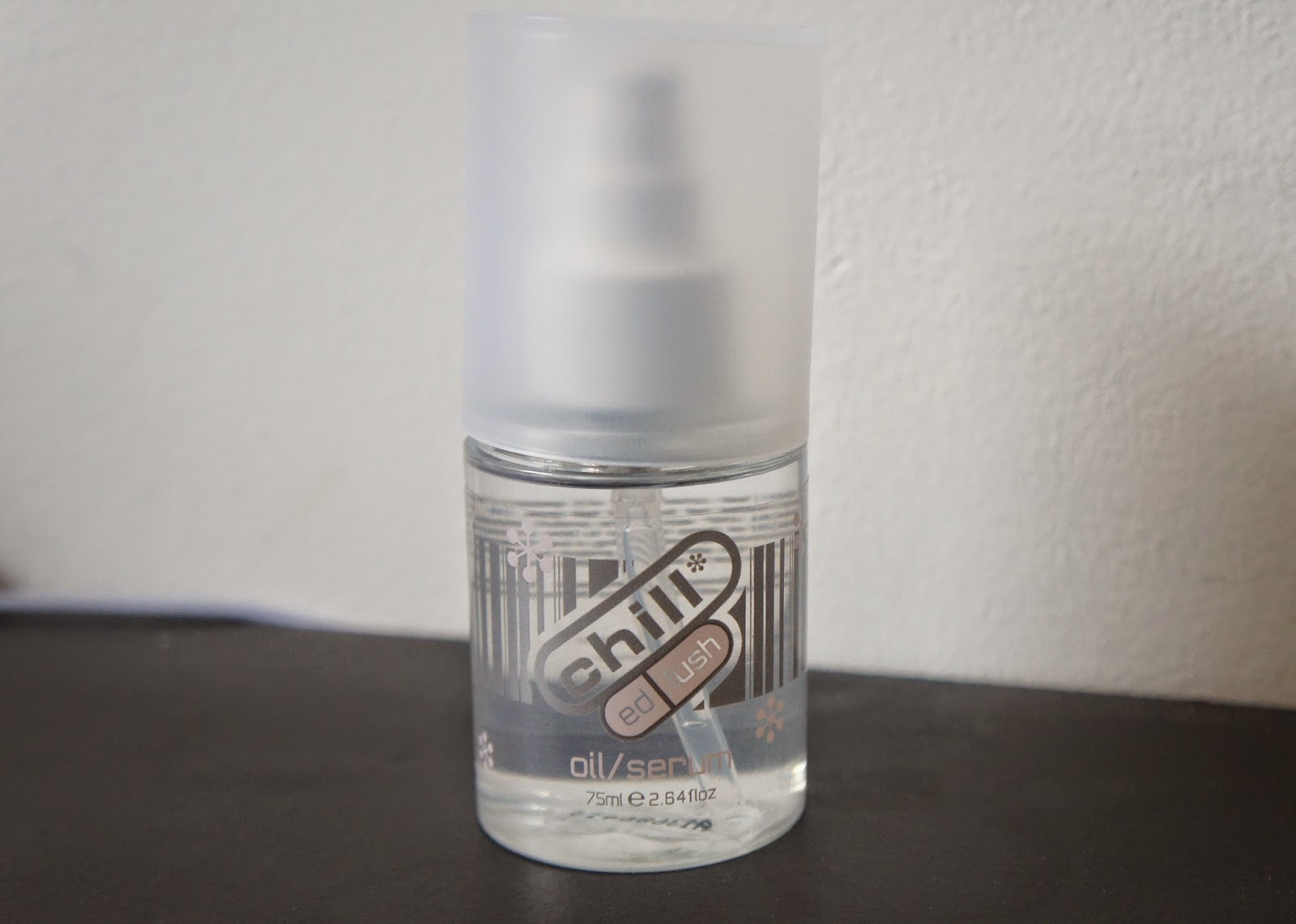 Straightening Natural Hair: Frizz Free & Smooth Results Using Chill- A Smooth Operator Oil Serum by Ed Lush