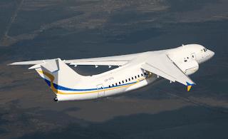 Pesawat Antonov (AN) 158 saat terbang
