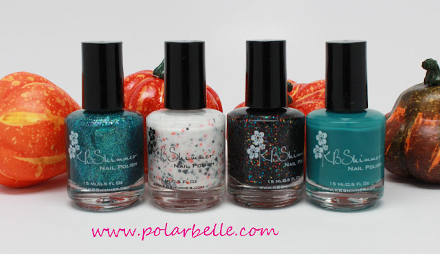 Halloween, glitter, crelly, jelly, swatches, review