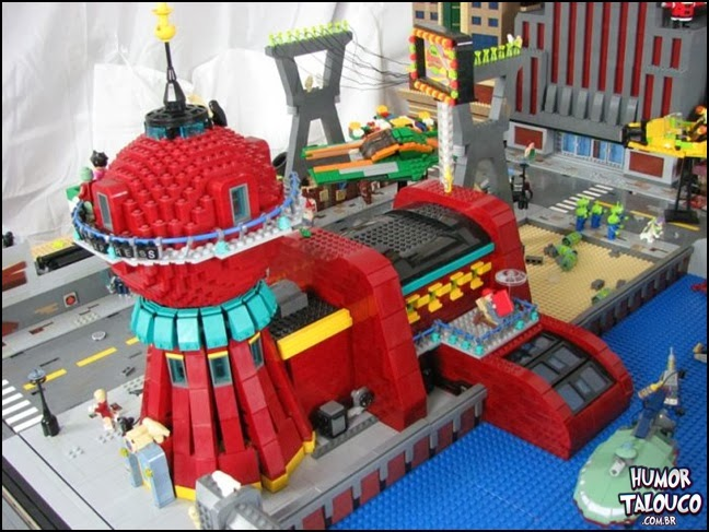 Coisas incríveis e engraçadas feitas de LEGO [Parte 1]