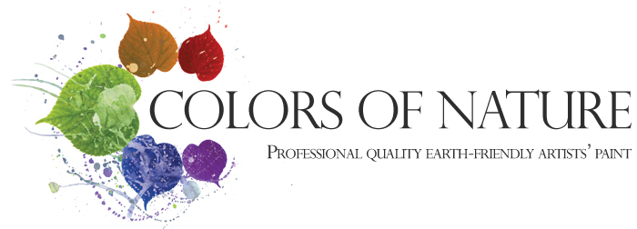 Colors of Nature - Professional Quality Earth-Friendly Artists' Paint