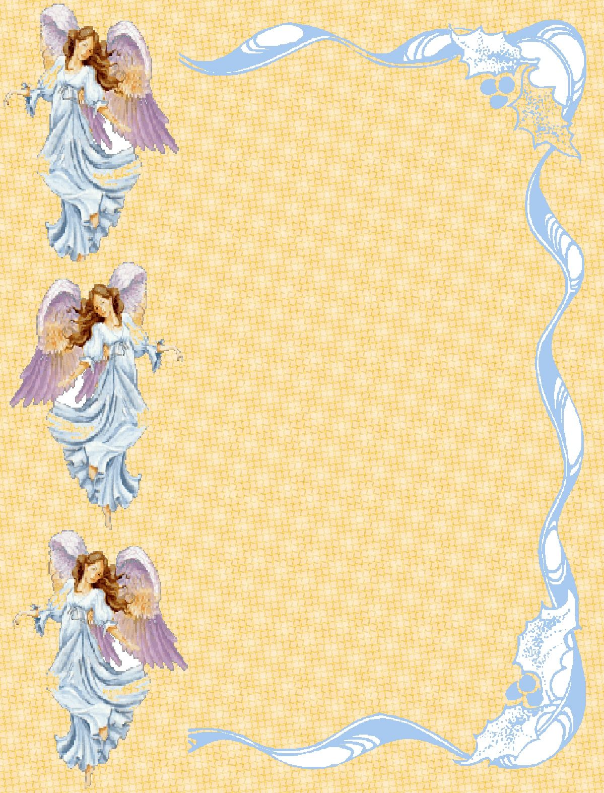 angel borders frames and backgrounds