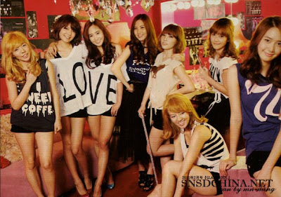 SNSD CHina Magz