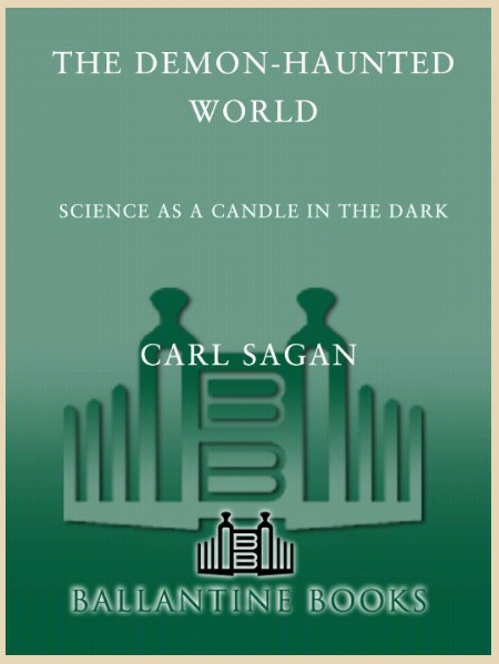 the demon haunted world carl sagan Get this from a library the demon-haunted world : science as a candle in the dark [carl sagan] -- science as a candle in the dark how can we make intelligent.