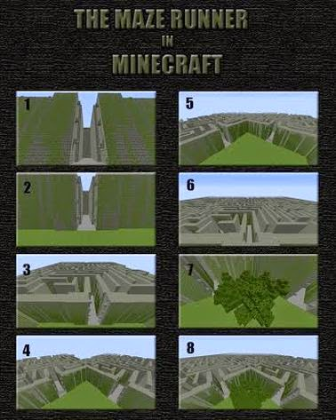 The Maze Runner Minecraft