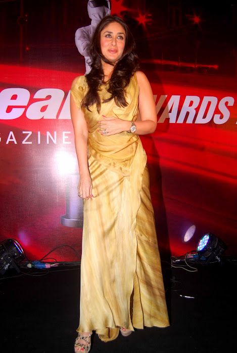 kareena kapoor at topgear awards unseen pics