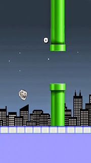 Screenshots of the Flappy troll for Android tablet, phone.