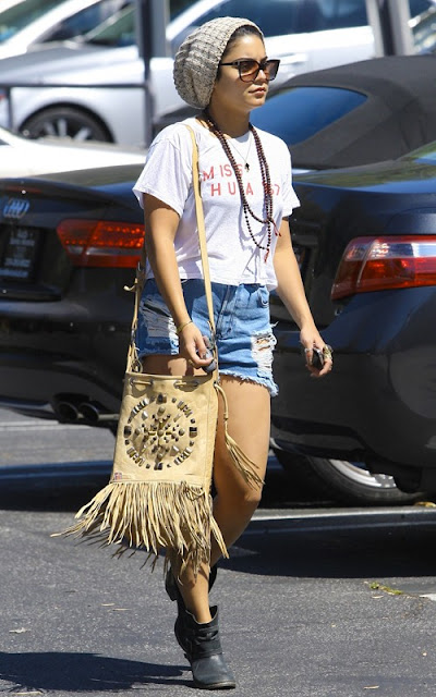 Vanessa Hudgens - Leggy Candids In Los Angeles