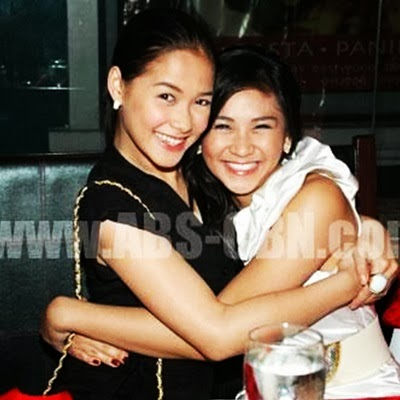 Sarah Geronimo and Maja Salvador Hug