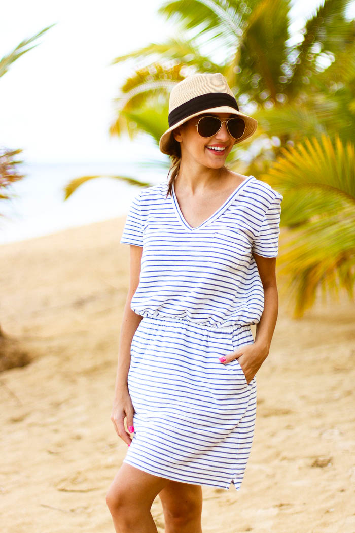 beach stripes, dominican republic, beach stripes, crew, loft, lou grey