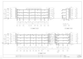 建設工事 仮設計画図 断面図