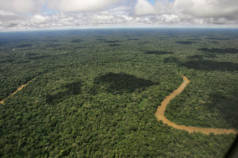 Ecuador issues oil-drilling permit for Amazon reserve (Credit: Pablo Cozzaglio/AFP/Getty Image) Click to enlarge.