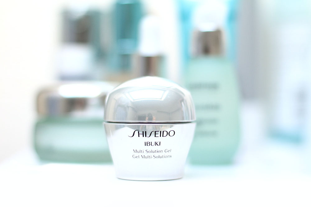 shiseido ibuki gel multi solutions anti boutons avis test