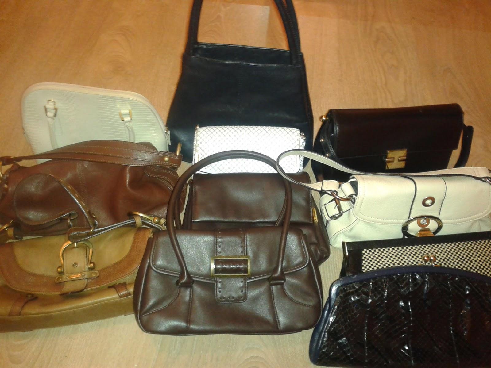 Sad news and 11 handbags