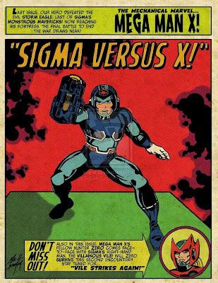 Old Comic Mega Man